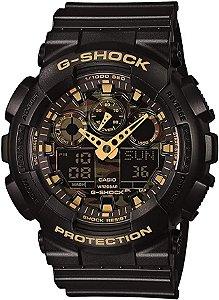 Relógio Casio G-Shock GA-100CF-1A9CR Camuflagem