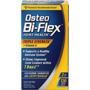 Osteo Bi-Flex Joint Health Triple Strength + Vitamina D - 120 Tablets