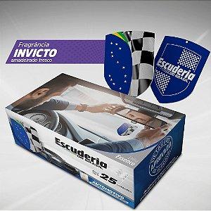 Pack 25 uni aromatizante automotivo Escuderia Brasil