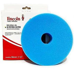Boina Super Velcro Espuma Azul 5,5 - Refino/lustro Lincoln