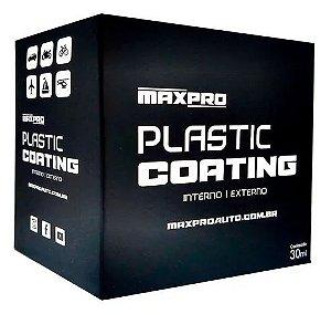 Vitrificador De Plásticos Plastic Coating Maxpro 30ml
