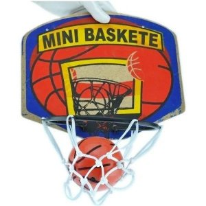Kit Mini Basquete Infantil Jogo c/ Tabela Cesta e Bola