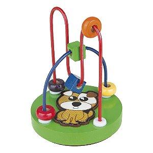 Aramado Mini Cachorro Brinquedo Pedagógico Sensorial Kids