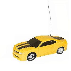 Carrinho Esportivo Controle Remoto Sem Fio Amarelo Well