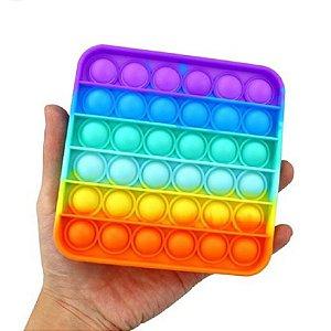 Brinquedo Pop It Fidget Quadrado Anti Stress Sensorial