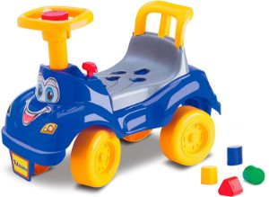 Motoca Totokinha Carrinho de Passeio Infantil Bebê Velotrol