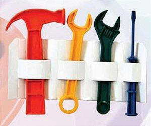 Kit com 4 Ferramentas Oficina infantil Brinquedos Divertidos