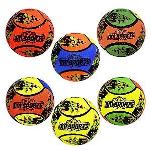 Bola De Futebol Sports Colors Oficial Jogue e Pratique Exercícios