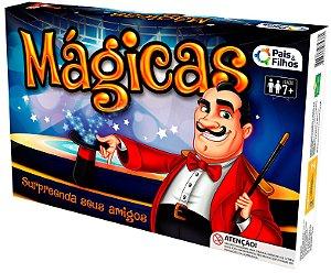 Kit de Mágica Jogo de Truques e Mágicas Infantil Diversão Pura
