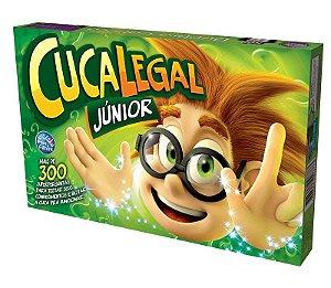Jogo de Tabuleiro Cuca Legal Junior Verde Brinquedo Divertido