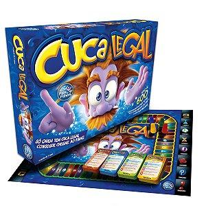 Jogo de Tabuleiro Cuca Legal Premium Brinquedo Divertido