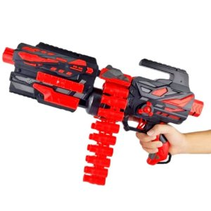 Submetralhadora Super Shot Power A Pilhas Nerf Lançador Brinquedo Infantil
