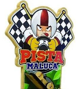 Pista Maluca Racing c/ Carrinho Infantil Divertido Pedagógico