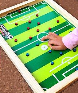 Jogo Peteleco Futebol de Dedo em Madeira Divertido Infantil