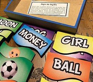 Jogo do Inglês Educativo em Madeira Iniciação ao Inglês