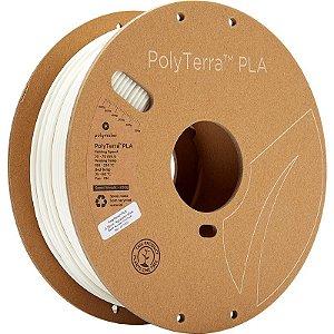 Filamento PLA Cotton White 2,85mm 1Kg Polyterra