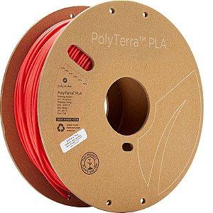 Filamento PLA Lava Red 2,85mm 1Kg Polyterra