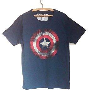 Camiseta masculina Capitão América