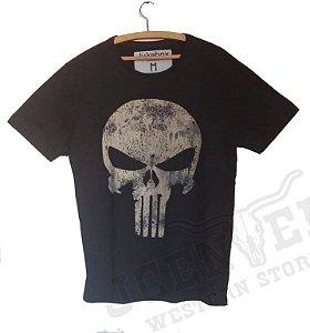 Camiseta masculina Justiceiro