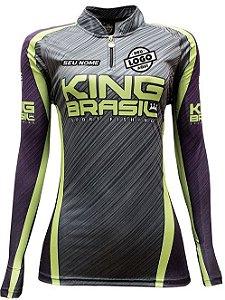 CAMISETA PERSONALIZADA KING BRASIL - (COM LOGO) FEM - 0368