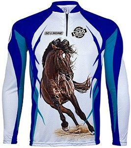 CAMISETA PERSONALIZADA KING BRASIL HORSE (COM LOGO) L2500