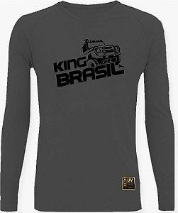 CAMISETA STYLE KING BRASIL - OFF ROAD CHUMBO/PRETO