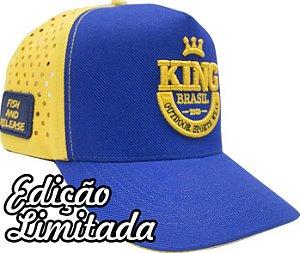 BONÉ KING BRASIL - RESPIRATION 2.1