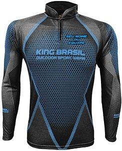 Camiseta Personalizada King Brasil - (COM NOME) 0693