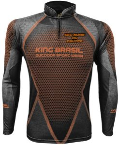 Camiseta Personalizada King Brasil - (COM NOME) 0692