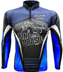 CAMISETA PERSONALIZADA KING BRASIL OFF ROAD (COM NOME) 2176