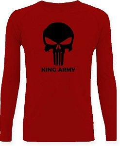 CAMISETA STYLE KING BRASIL - ARMY VERMELHO/PRETO