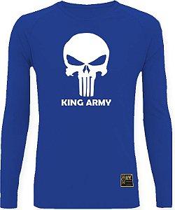 CAMISETA STYLE KING BRASIL - ARMY AZUL/BRANCO