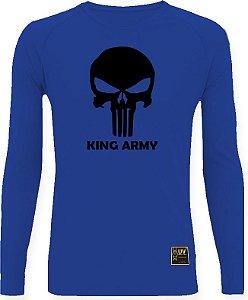 CAMISETA STYLE KING BRASIL -  ARMY AZUL/PRETO