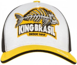 BONÉ KING BRASIL - MONSTER FISH