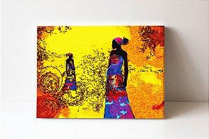 Quadro em Canvas Africa