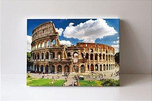 Quadro em Canvas Coliseu da cidade de Roma capital da Itália