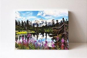 Quadro em Canvas Parque Nacional das Cascatas do Norte Monte Shuksan