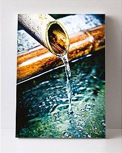 Quadro em Canvas Cano com água