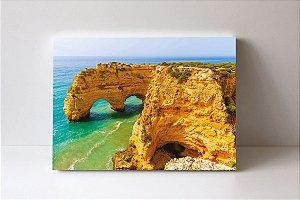 Quadro em Canvas A Praia da Marinha de Portugal da Europa