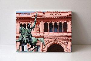 Quadro em Canvas Casa Rosada Argentina
