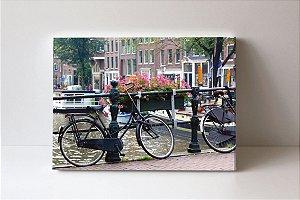Quadro em Canvas Bike em Amsterdan