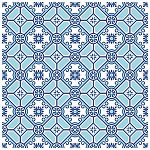 Adesivo de Azulejo Blue Light