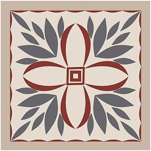 Adesivo de Azulejo Flor do Norte