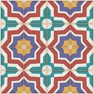 Adesivo de Azulejo Marrocos Patchwork