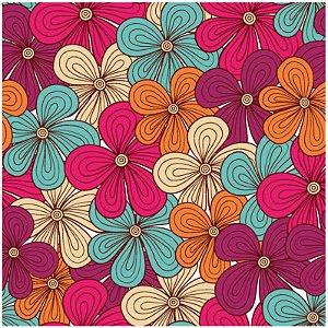 Adesivo de Azulejo Three Little Flowers