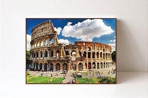 Quadro em Canvas Coliseu Roma