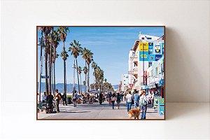 Quadro em Canvas Venice Beach Street