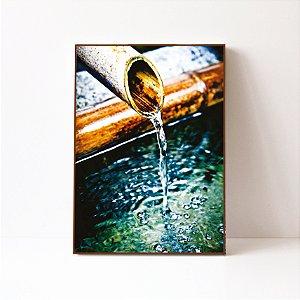 Quadro em Canvas Cano com Agua