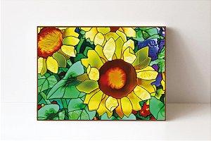 Quadro em Canvas Flor