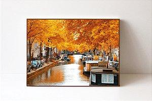 Quadro em Canvas Paisagem Outono